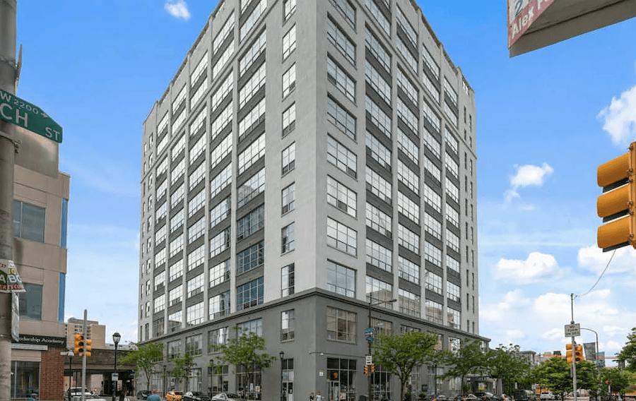 condo for sale logan square loft building exterior