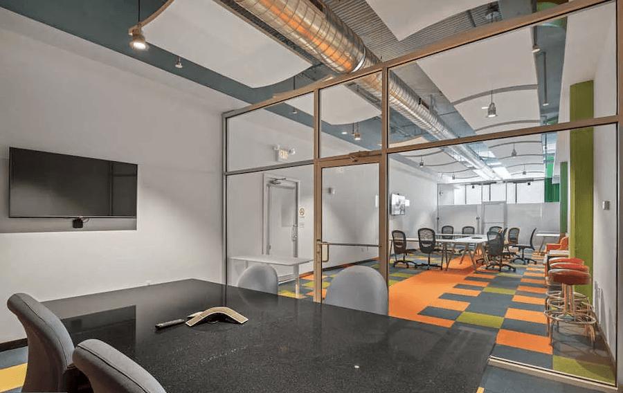 condo for sale logan square loft conference room