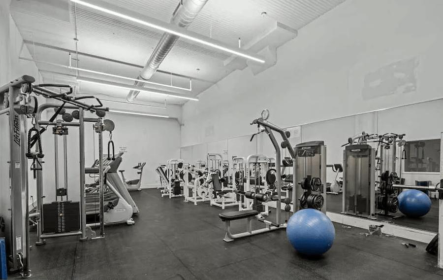 condo for sale logan square loft fitness center