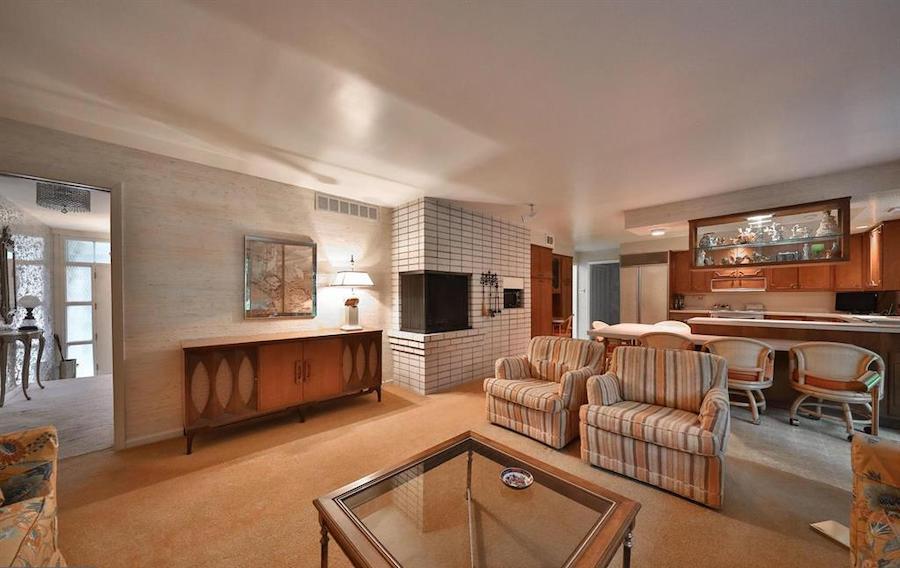 house for sale abington midcentury split-level kitchen and family room