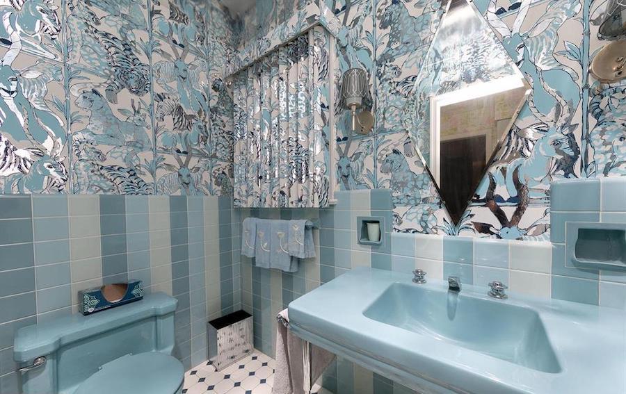 house for sale abington midcentury split-level main floor powder room