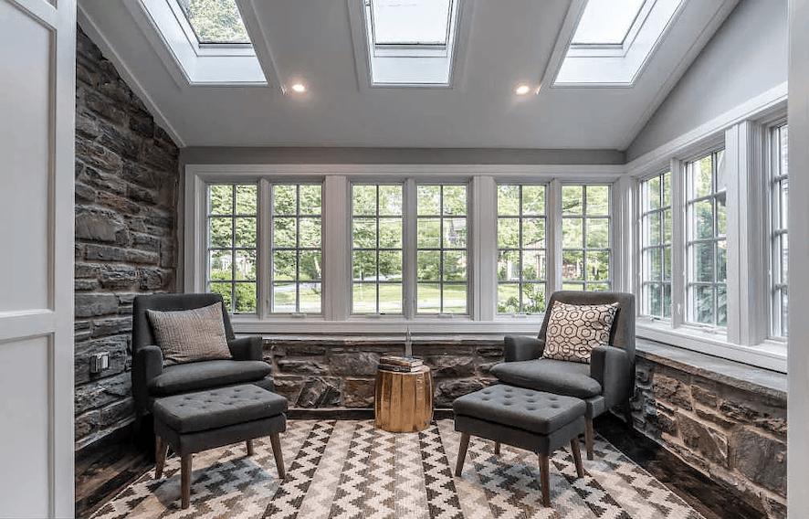 house for sale bryn mawr rebuilt tudor sunroom
