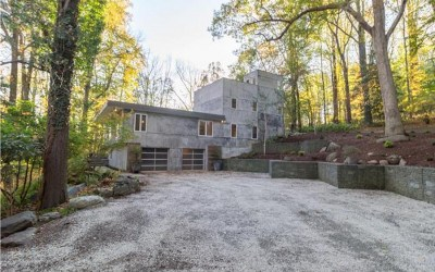 house for sale chadds ford midcentury modern exterior side