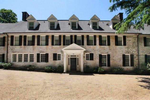 house for sale chestnut hill renovated estate front elevation