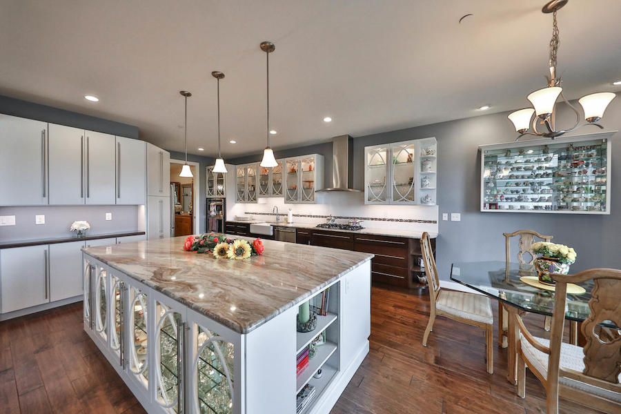 house for sale flourtown neotraditional townhouse kitchen