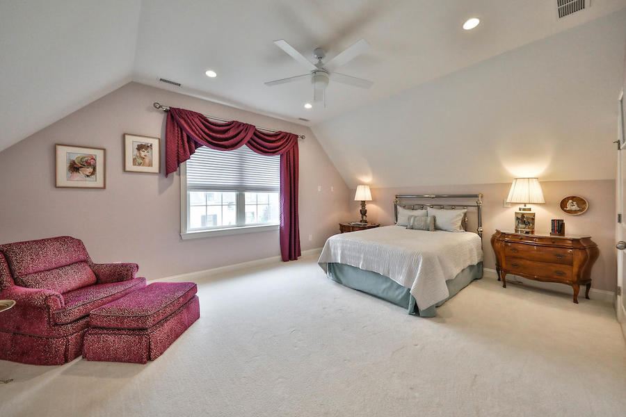 house for sale flourtown neotraditional townhouse master bedroom