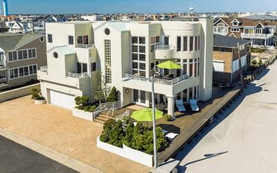 house for sale longport beachfront moderne exterior