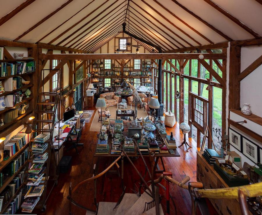 house for sale wrightstown hortulus farm barn residence great room