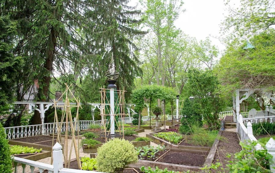 house for sale wrightstown hortulus farm raised-bed gardens