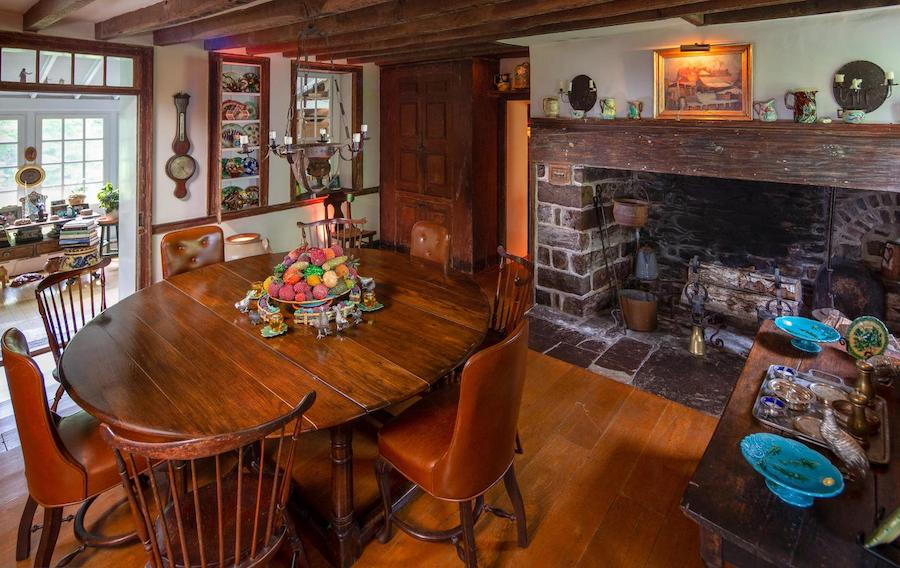house for sale wrightstown hortulus farm main house dining room