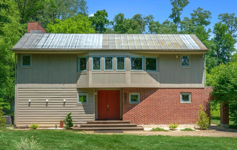 house for sale newtown square remixed barn front elevation