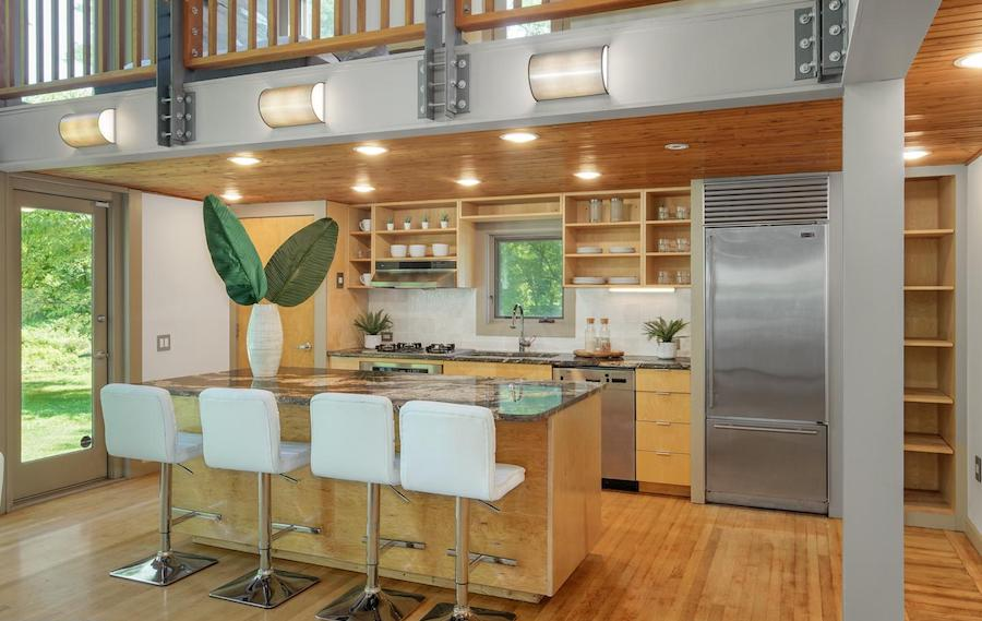 house for sale newtown square remixed barn kitchen
