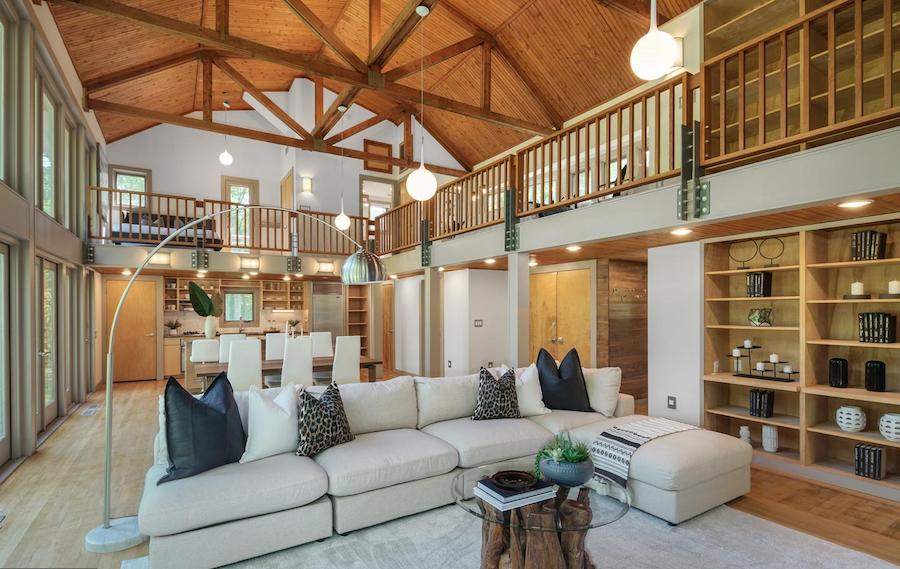 house for sale newtown square remixed barn main floor