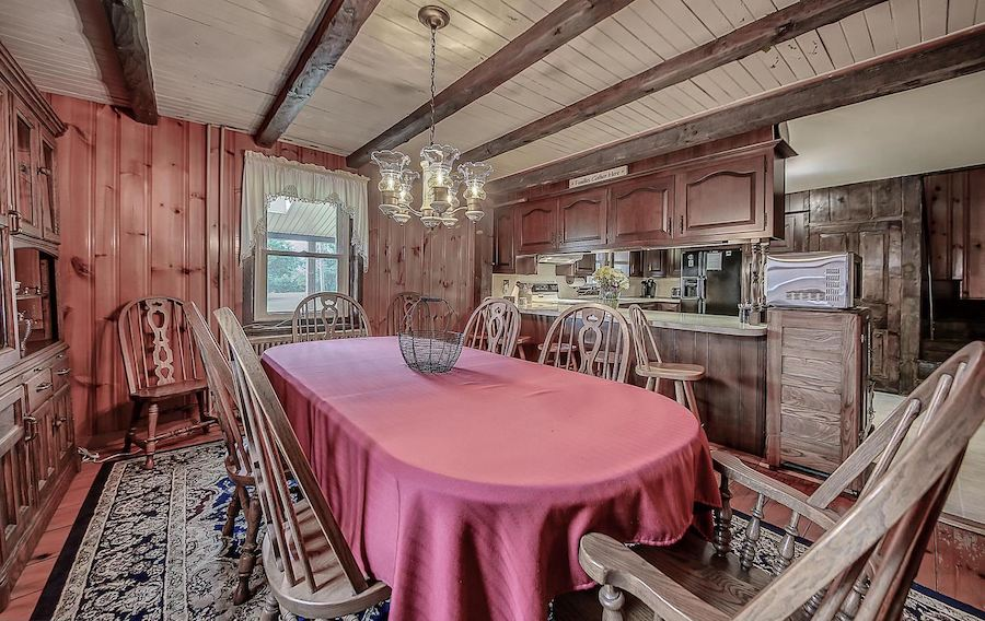 house for sale perkasie holland hill farm dining room