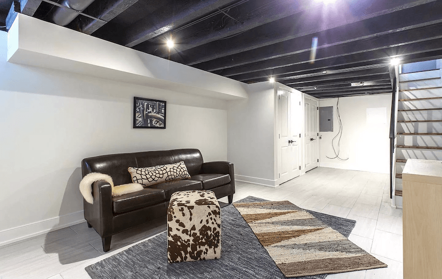 house for sale point breeze rehabbed row house basement