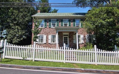 house for sale pottstown historic farmstead exterior front