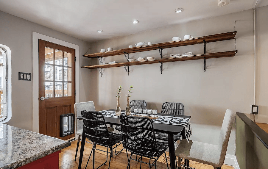house for sale rittenhouse contemporary townhouse dining room
