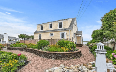 house for sale stone harbor bayfront cottage street elevation
