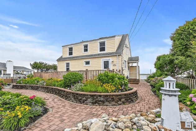 house for sale stone harbor bayfront cottage street elevation