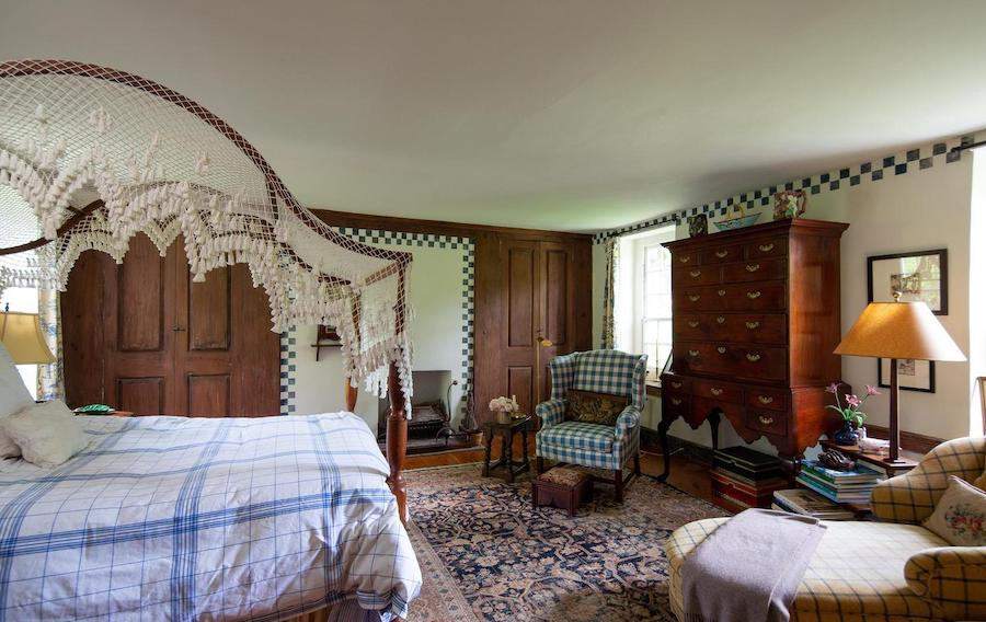 house for sale wrightstown hortulus farm main house master bedroom