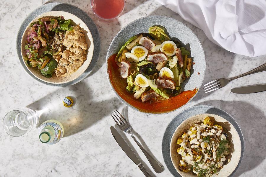 K'Far salads menu philadelphia