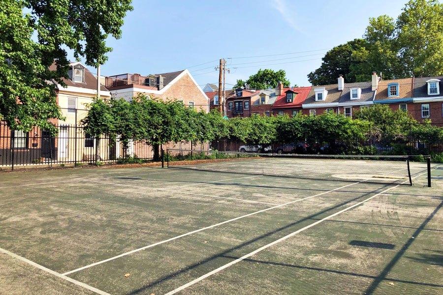 free public tennis courts philadelphia