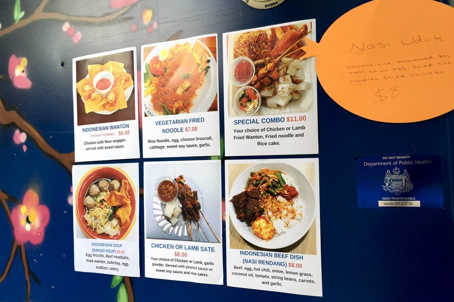 sophie food truck menu indonesian philadelphia
