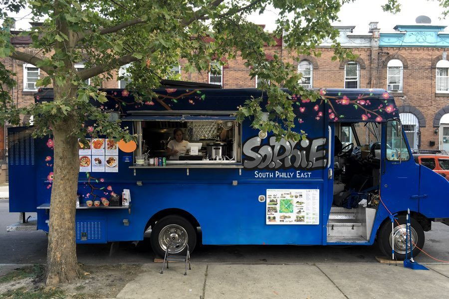 sophie food truck indonesian mifflin square park philadelphia