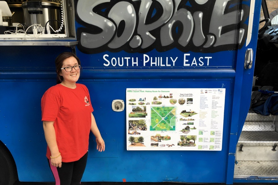 sophie food truck mifflin square park yeni lie indonesian food
