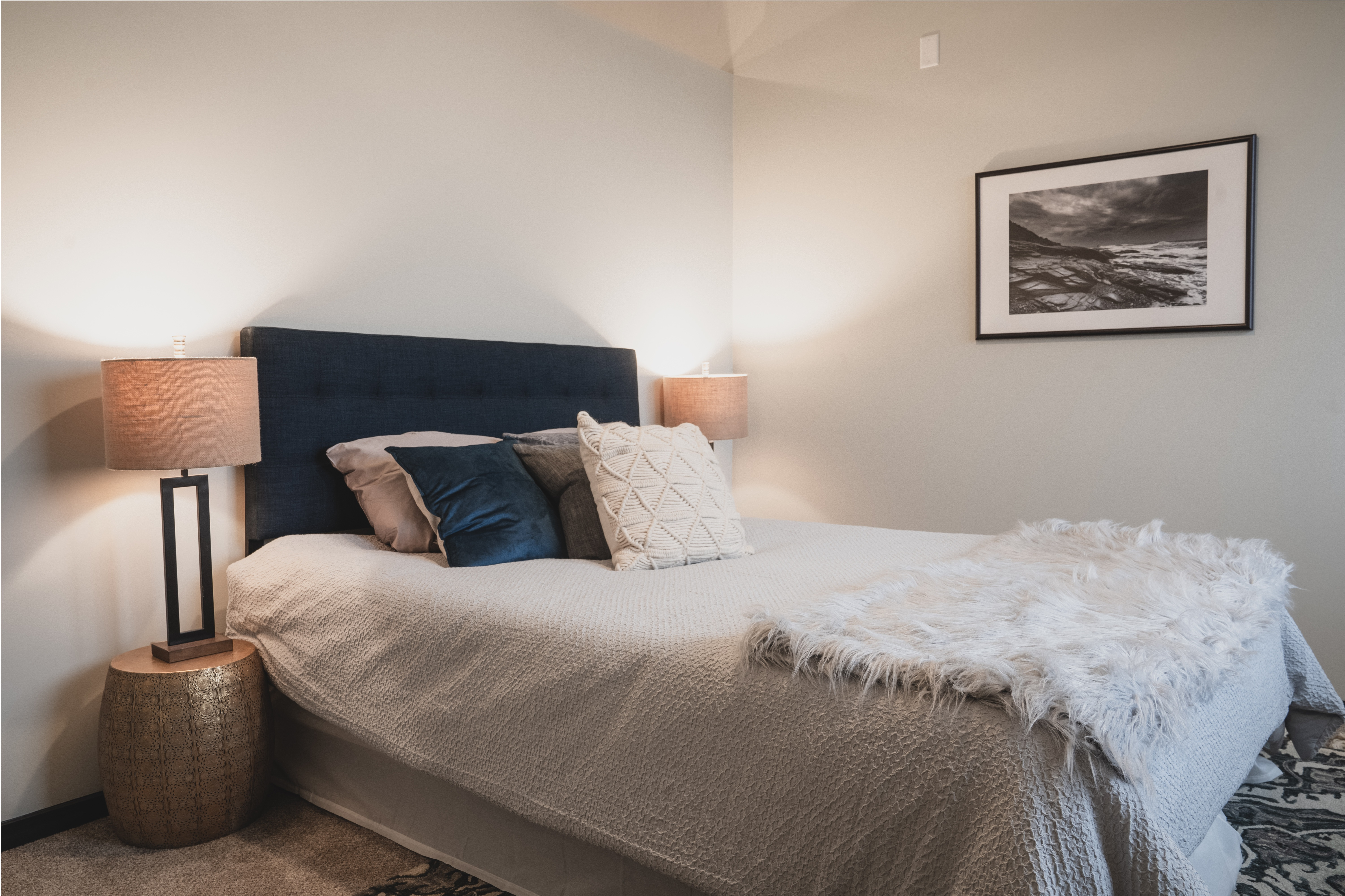 the civic apartment profile model 2br bedroom