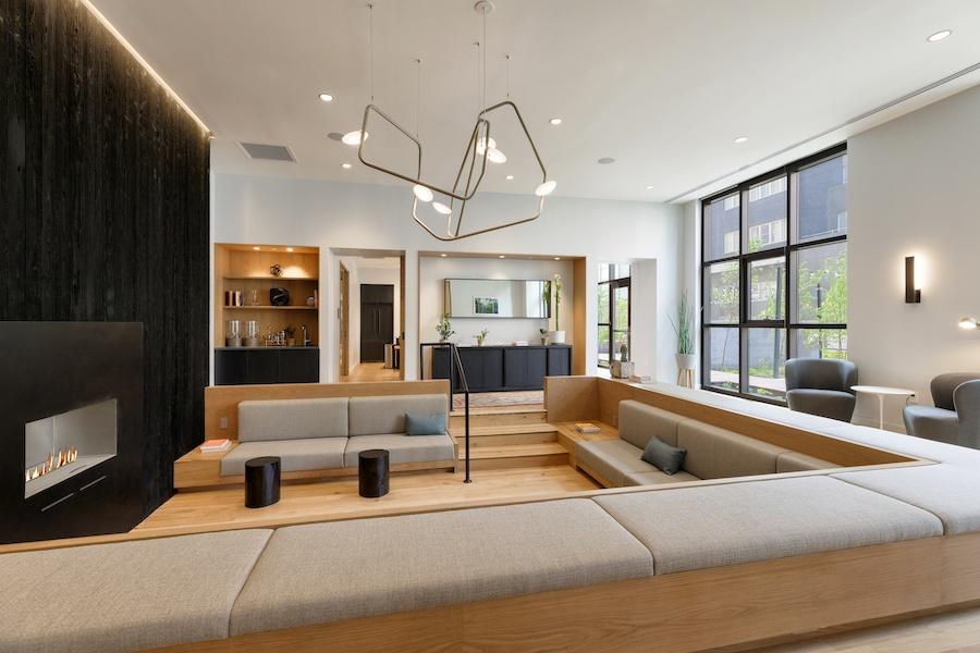 the girard apartment profile conversation lounge