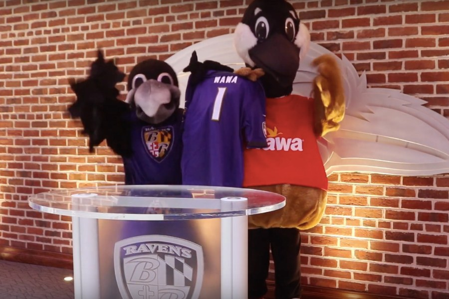 wawa official hoagie baltimore ravens