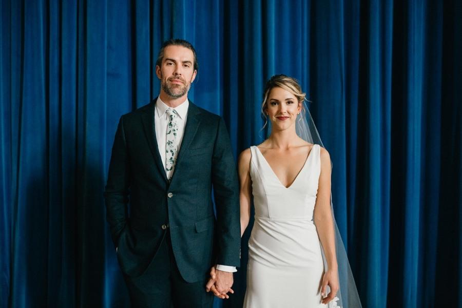 Bok Building bride and groom