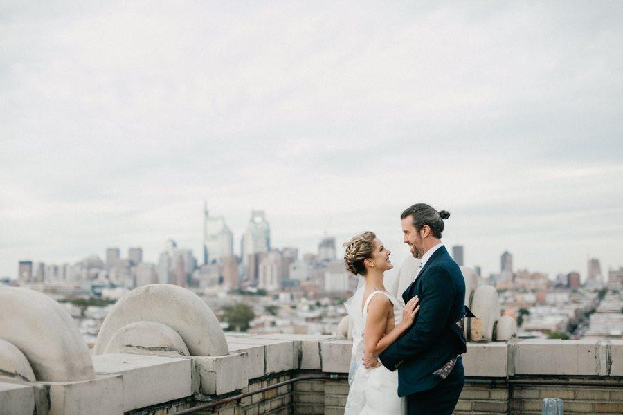 Bok Building wedding portrait