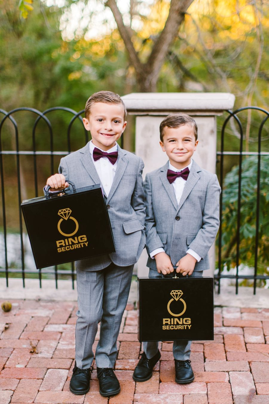 Wedding ring bearers