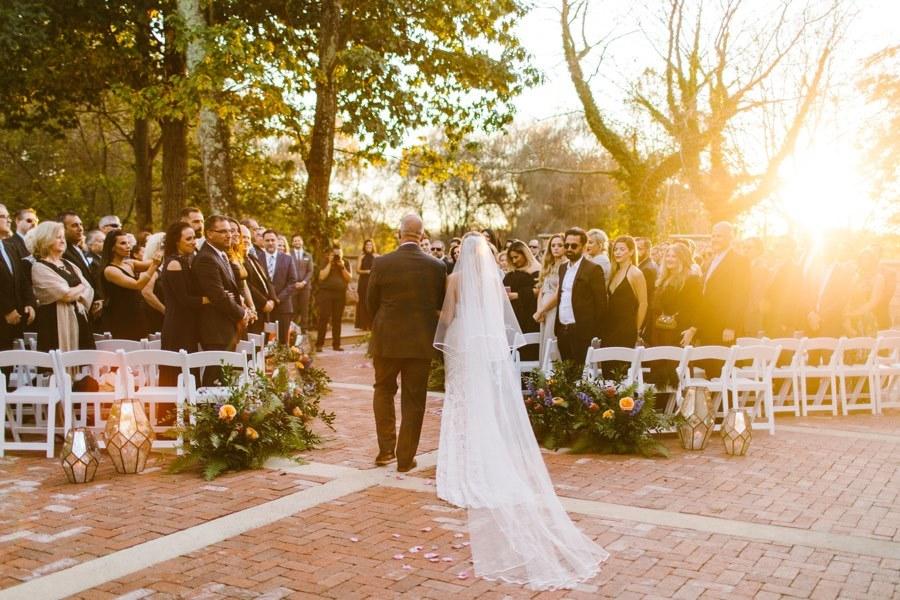 Hotel du Village wedding ceremony