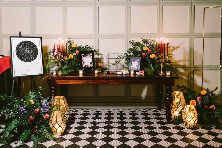 Hotel du Village wedding reception