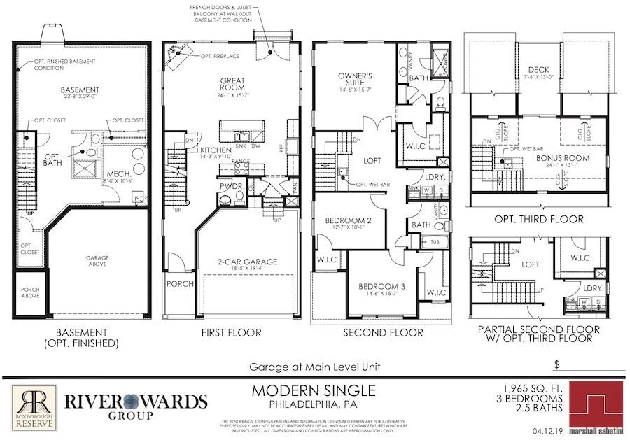 roxborough reserve preview freestanding floor plan