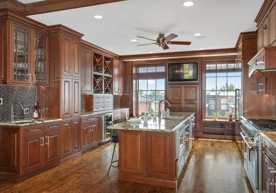 condo for sale rittenhouse delancey place condo kitchen