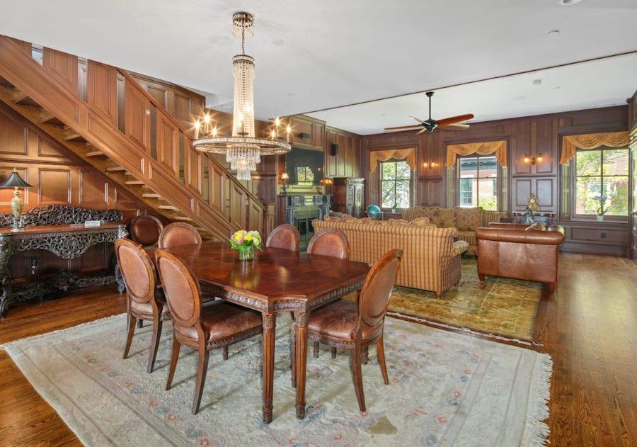 condo for sale rittenhouse delancey place condo dining room