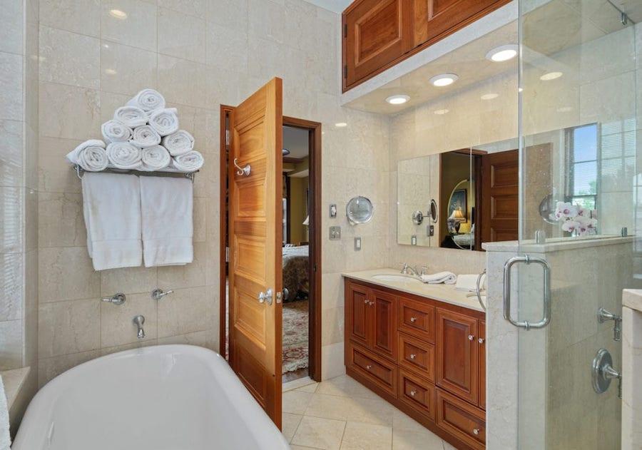 condo for sale rittenhouse delancey place condo master bathroom