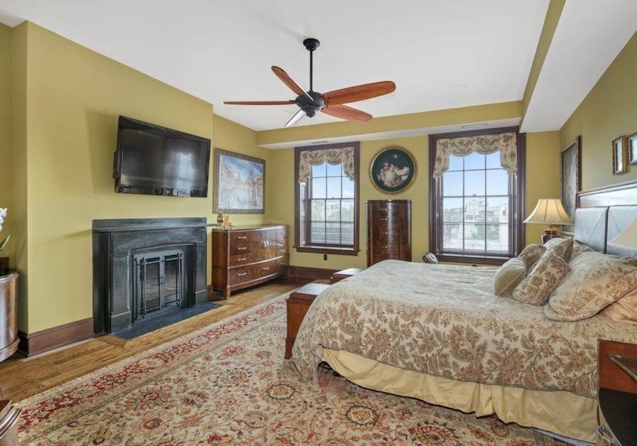 condo for sale rittenhouse delancey place condo master bedroom
