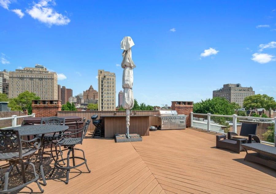 condo for sale rittenhouse delancey place condo roof deck