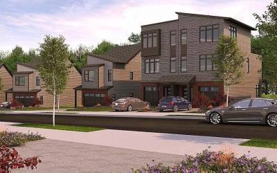 roxborough reserve preview twin houses rendering