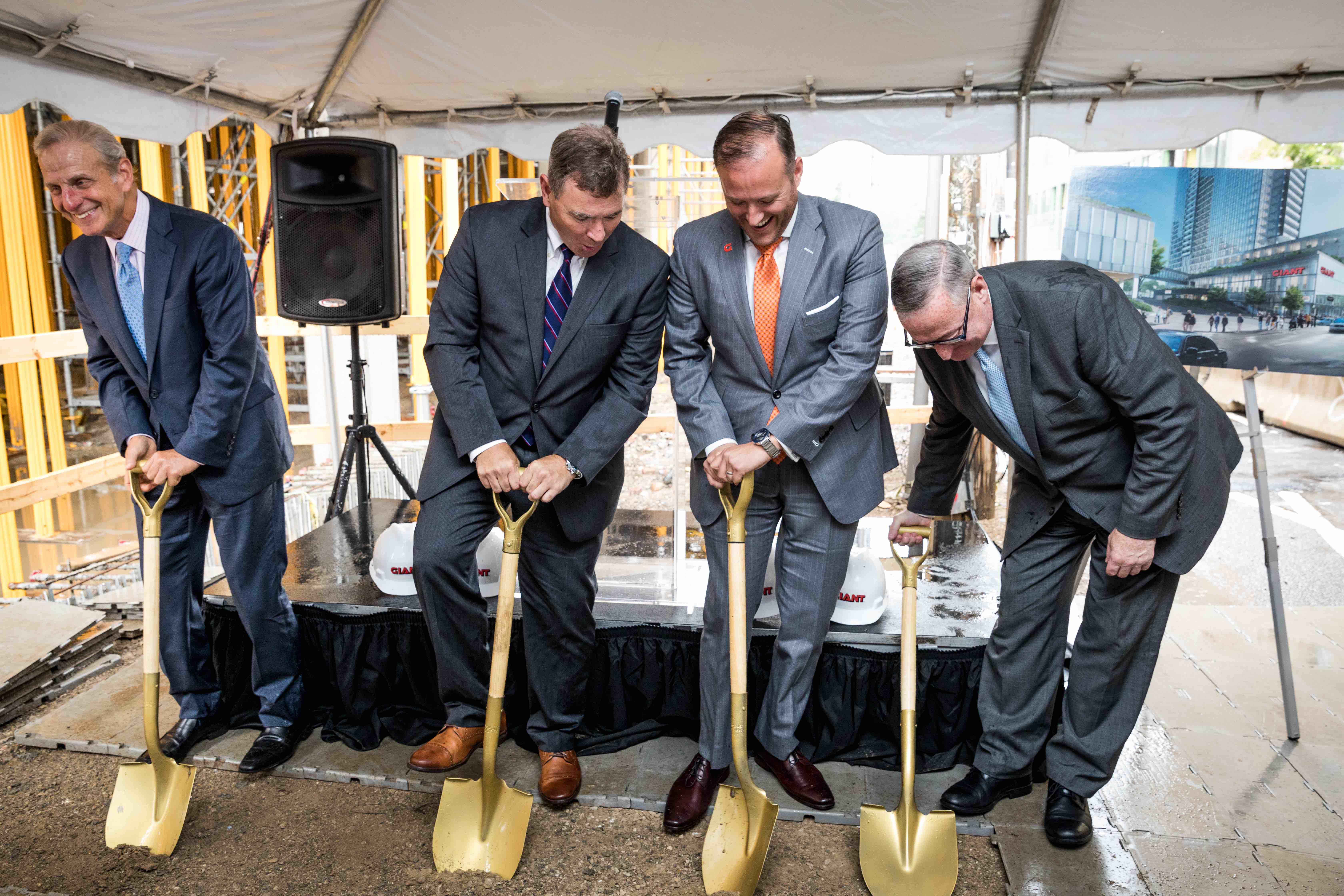 Giant Breaks Ground on Flagship Grocery Store in Center City