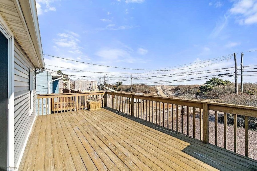 house for sale sea isle city contemporary oceanside deck view
