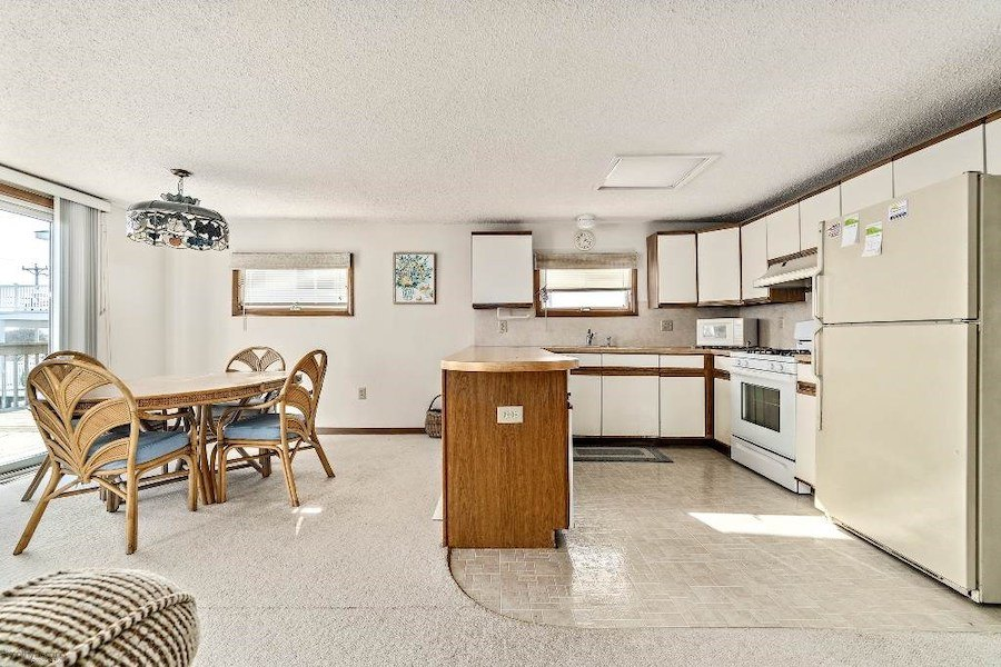 house for sale sea isle city contemporary dining room and kitchen