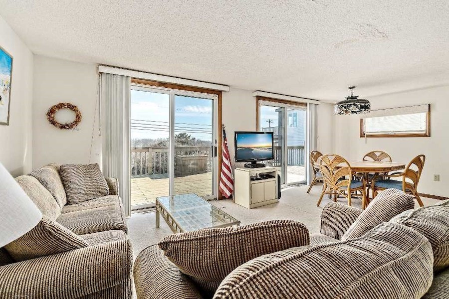 house for sale sea isle city contemporary living and dining rooms