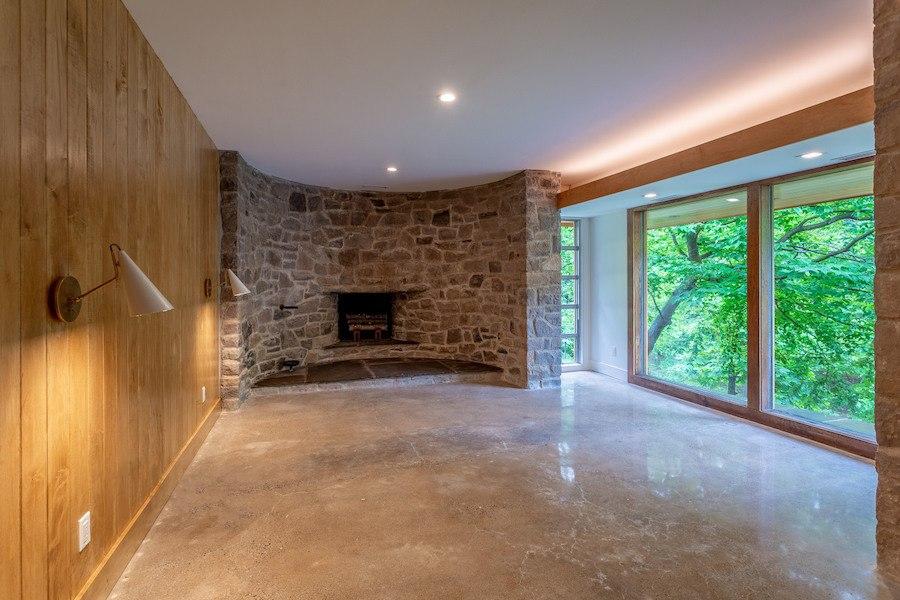 house for sale carversville midcentury modern house master bedroom
