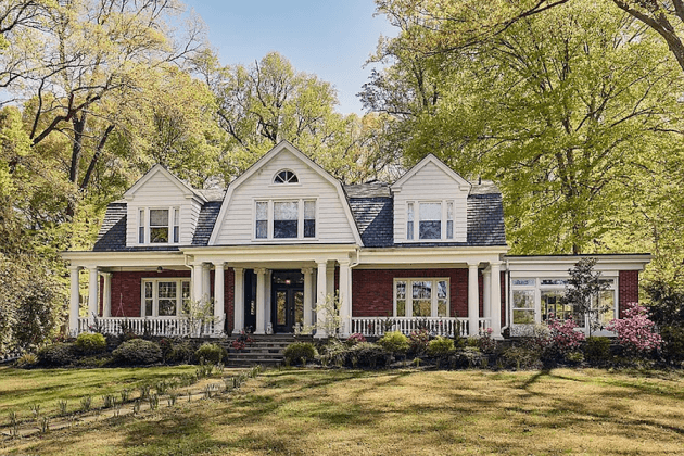 house for sale springfield dutch colonial exterior front